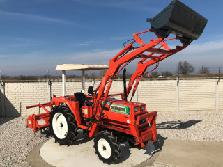 Hinomoto N239 Japanese Compact Tractor with front loader (1)