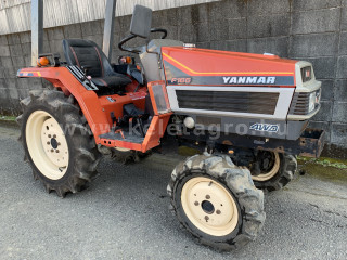 Yanmar F165D Japanese Compact Tractor (1)