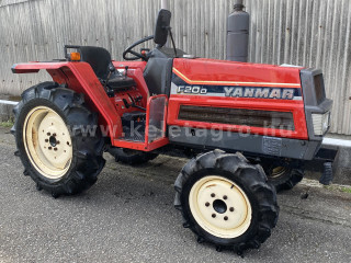 Yanmar F20D Japanese Compact Tractor (1)