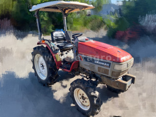 Yanmar F-250 Japanese Compact Tractor (1)