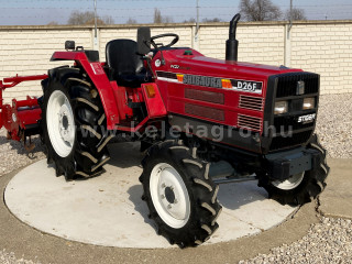 Shibaura D26F Japanese Compact Tractor (1)