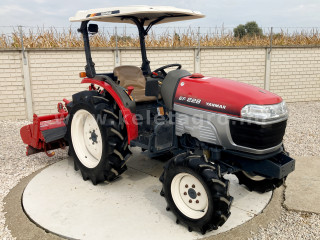 Yanmar EF228 Japanese Compact Tractor (1)
