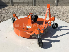 Finishing mower 100 cm for TZ4K and Rába-15 compact tractors, Komondor SFNY-100/T - Implements -