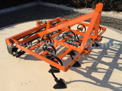 Cultivator 110 cm, with clod crusher, for Japanese compact tractors, Komondor SKU-110 - Implements - Cultivators