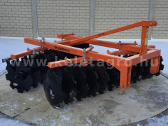 Disc harrow 200 cm, for Japanese compact tractors, Komondor SFT-200 - Implements -