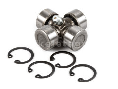 PTO shaft cross joint 20x44,3mm, outer seeger rings, for Japanese compact tractors, SUPER SALE PRICE! - Compact tractors -