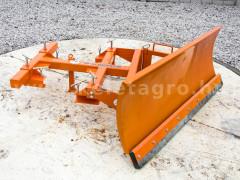 Snow plow 140-200cm, for forklift trucks, Komondor STLR-140-200/targ - Implements - Front Mounted Snow Plows