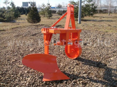 Plow with 1 head, for 10-16HP Japanese compact tractors, Komondor SE-1 - Implements - Plows