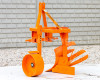 Plow with 1 head, for 9-16HP Japanese compact tractors, Komondor SER-1 (5)