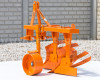 Plow with 2 heads, for 15-23HP Japanese compact tractors, Komondor SER-2 (3)
