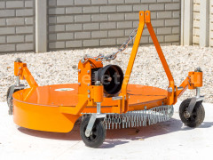 Finishing mower 100 cm, for Japanese compact tractors, Komondor SFNY-100.4 - Implements -
