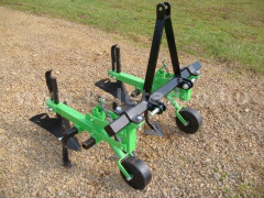 Cultivator with 2 hoe units, with hiller, for Japanese compact tractors, Komondor SK2 - Implements - Cultivators