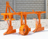 Plow with 3 heads, for 24-30HP Japanese compact tractors, Komondor SE-3 (6)