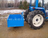 Transport box 130 cm, for Japanese compact tractors, drop down tailboard, Komondor SZLH-130 (10)
