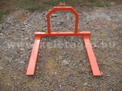 Pallet fork for Japanese compact tractors, Komondor RV-300 - Implements - Transport and Loader Implements
