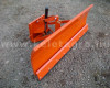 Snow plow 140cm, hidraulic lifting, manual angle adjustment, for Japanese compact tractors, Komondor STLR-140 (2)