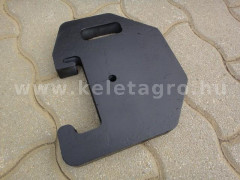 Counter Weight, 9kg, for Japanese compact tractors - Compact tractors -