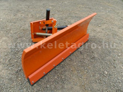 Snow plow 125cm, hidraulic lifting, hidraulic angle adjustment, for Japanese compact tractors, Komondor STLHR-125 - Implements - Front Mounted Snow Plows