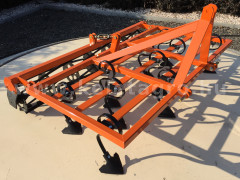 Cultivator 160 cm, with clod crusher,  for Japanese compact tractors, Komondor SKU-160 - Implements - Cultivators