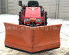 Snow plow 150cm, vario, independent side by side adjustable, for Japanese compact tractors, Komondor SHE-150 (5)
