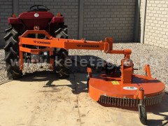 Finishing mower 100 cm, for Japanese compact tractors, side mounted, Komondor SFNY-100K - Implements - Lawn mowers and grass cutters