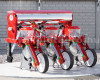 Corn seeder (3 rows) with plastic seeder tank, for Japanese compact tractors (5)