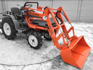 Front loader for Yanmar KE series Japanese compact tractors, Komondor SHR-100KE (1)