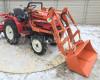 Front loader for Yanmar KE series Japanese compact tractors, Komondor SHR-100KE (2)