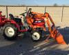 Front loader for Yanmar KE series Japanese compact tractors, Komondor SHR-100KE (16)