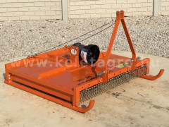 Topper mower 100cm,  for Japanese compact tractors, Komondor SRZ-100  - Implements - Topper mowers and flail mowers