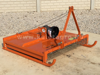 Topper mower 100cm, for anticlockwise PTO Japanese compact tractors, Komondor SRZ-100F (1)