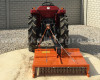 Topper mower 100cm, for anticlockwise PTO Japanese compact tractors, Komondor SRZ-100F (10)