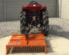 Topper mower 100cm, for anticlockwise PTO Japanese compact tractors, Komondor SRZ-100F (11)