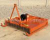 Topper mower 100cm, for anticlockwise PTO Japanese compact tractors, Komondor SRZ-100F (7)