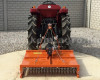 Topper mower 100cm, for anticlockwise PTO Japanese compact tractors, Komondor SRZ-100F (9)