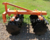 Disc harrow 90 cm, for Japanese compact tractors, Komondor SFT-90 (4)