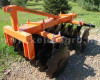 Disc harrow 90 cm, for Japanese compact tractors, Komondor SFT-90 (5)