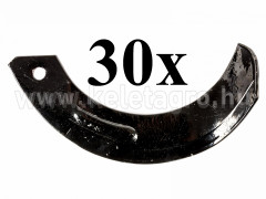 Rotary tiller blade for Japanese compact tractors Hinomoto, set of 30 pieces, SPECIAL OFFER! - Compact tractors -