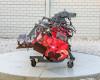 Rotary tiller 380cm, foldable, Niplo HVS-3800BR, used (2)
