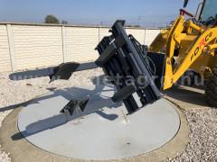 Force wheel loader rotating pallet and barrel fork - Implements -