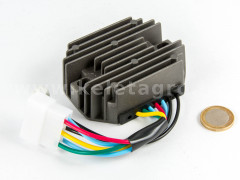 Voltage regulator with 6-cable connector for Kubota and Yanmar Japanese compact tractors - Compact tractors -