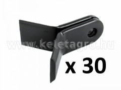 Stalk crusher Y blade pair for EFGC, EFGCH, DP, DPS, GK Series, set of 30 paires, SPECIAL OFFER! - Compact tractors -