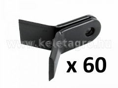 Stalk crusher Y blade pair for EFGC, EFGCH, DP, DPS, GK Series, set of 60 paires, SPECIAL OFFER! - Compact tractors -