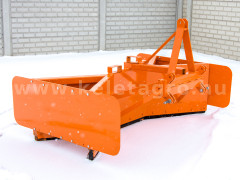 Rear mounted snow plow 170cm, Komondor SHL-170 - Implements - Front Mounted Snow Plows