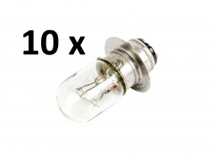 Light bulb, 1 pin, 25/25W, 194155-55810, for Japanese compact tractors, set of 10 pieces, SPECIAL OFFER! - Compact tractors -