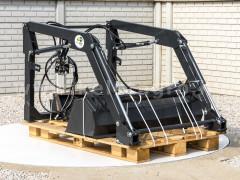 Front loader for Iseki TA215F, TA235F, TA255F, TA275F Japanese compact tractors, Komondor MHR-100TA - Implements -