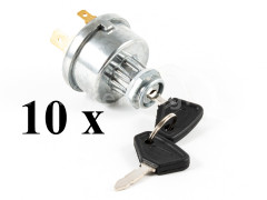 Ignition and glow switch for tractors, set of 10 pieces, SPECIAL OFFER! - Compact tractors -
