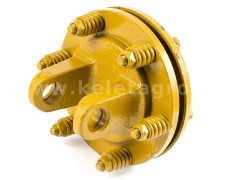 PTO drive shaft yoke 34HP (25kW), friction clutch, for 04B PTO drive shafts - Compact tractors -