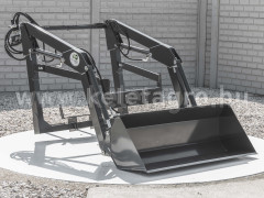 Front loader for Yanmar F165D, FX165D Japanese compact tractors, Komondor MHR-100F165D - Implements -
