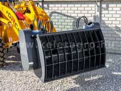 Force wheel loader concrete mixer bucket - Implements -